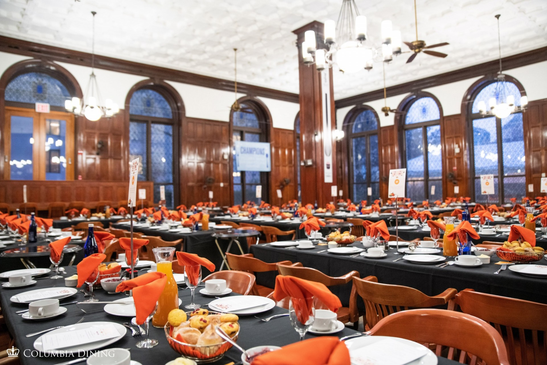 John Jay Dining Hall set for the annual Thanksgiving Feast